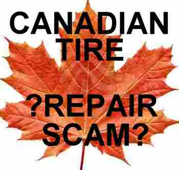 Canadian Tire Repair Scam [2211 boul Roland-Therrien, Longueuil] = documents-proofs